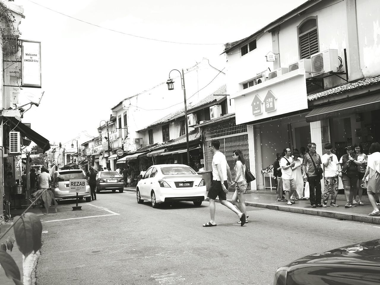 At Melaka Malaysia The World Heritage Capture The Moment Streetphotography_bw From My Lens