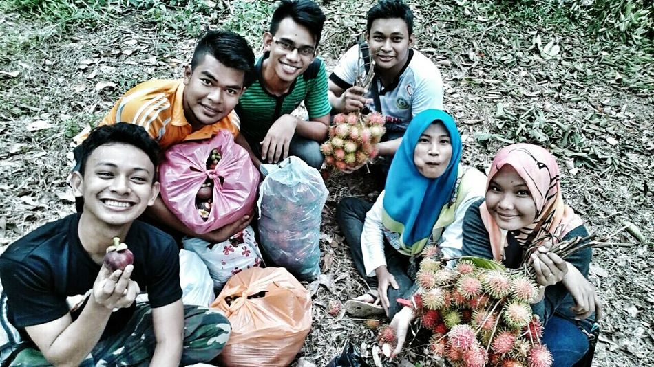 THESE Are My Friends Hanging Out Malaysian Kebun Buah Tropical Fruits
