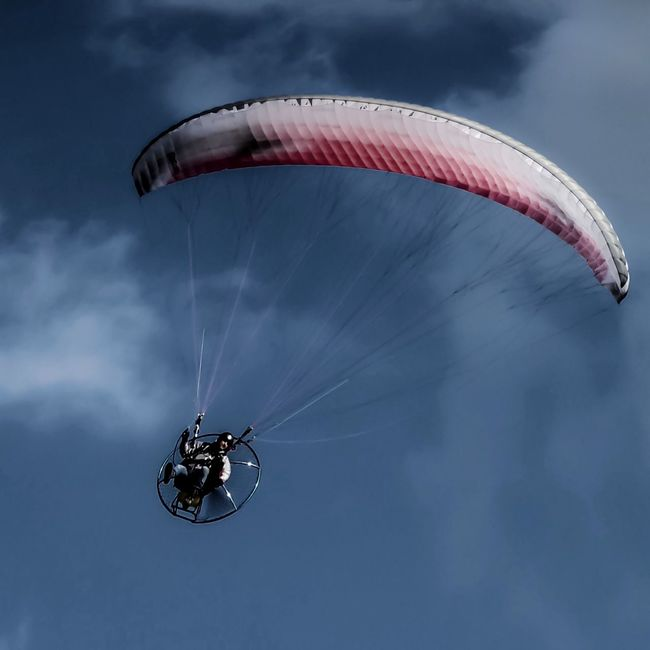 take me for a Ride People And Places Adventure Flight Outdoors Cloud - Sky Sky Ride Flying High Sky Diving Great Outdoors Beauty In Nature Sky And Clouds OpenEdit Beachy Head