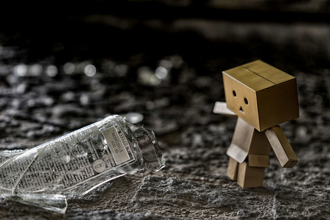 upps ..are you ready? Accident Broken Glass Danbo Danboard Darkness And Light Glass Manga Toy Ultimate Japan