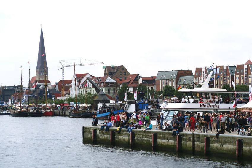 Hansesail in Warnemuende and Rostock 2016. Sailing boats from all over world meeting here for that yearly event. City City Life Day HanseSail Hansesail 2016 Harbor Harbor View Outdoors Rostock Rostock 2016 Rostocker Hafen Rostocker Stadthafen Sailing Sailing Boat Sailing Boats Sailing Ship Sky Travel Destinations Water