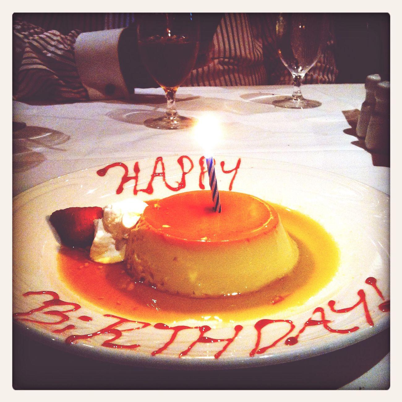 el flan para mi cumpleaños