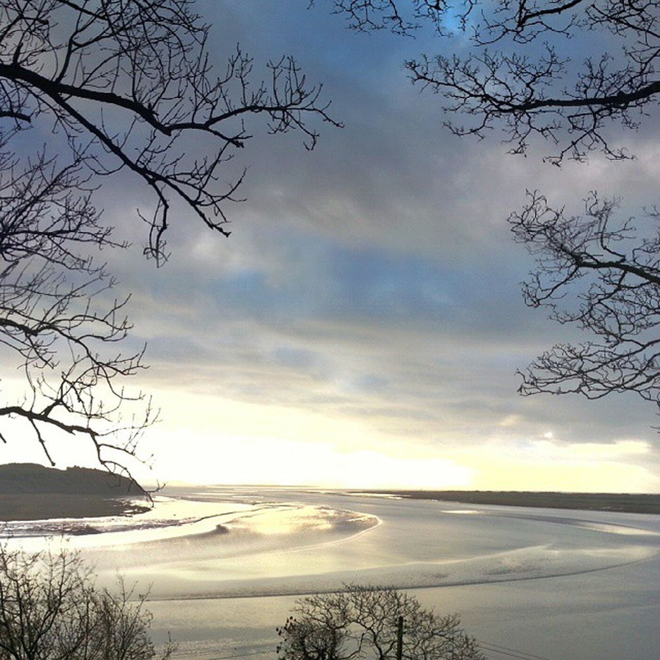 Laugharne. Hard to imagine but the local council have approved plans to build a wind farm here. Wales Coast Insanity DylanThomas Android Snapseed