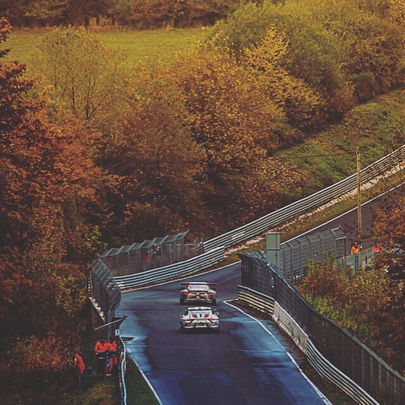 Nordschleife Nurburgring Racetrack - Autumn Eifel Germany Travel Outdoors Road Nature No People Journey First Eyeem Photo
