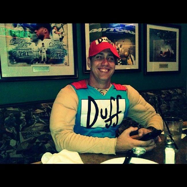 Duff Man!! Duffman Duffys @bigrob420 Homie Drinking zooted