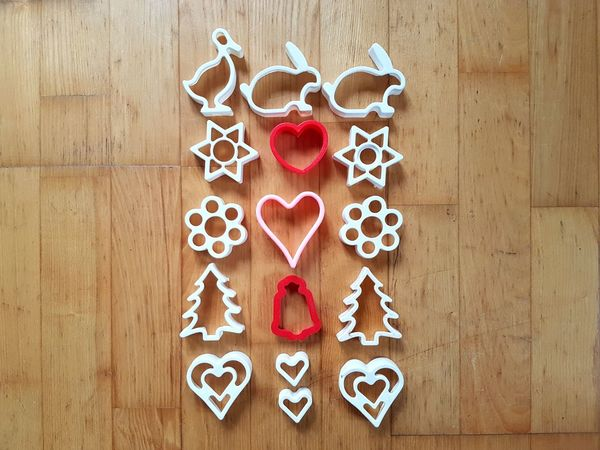 EyeEm Selects Cookie Cutters Pastry Cutter Kitchen Utensil Christmas Arrangement Cultures Celebration Directly Above No People Close-up Indoors