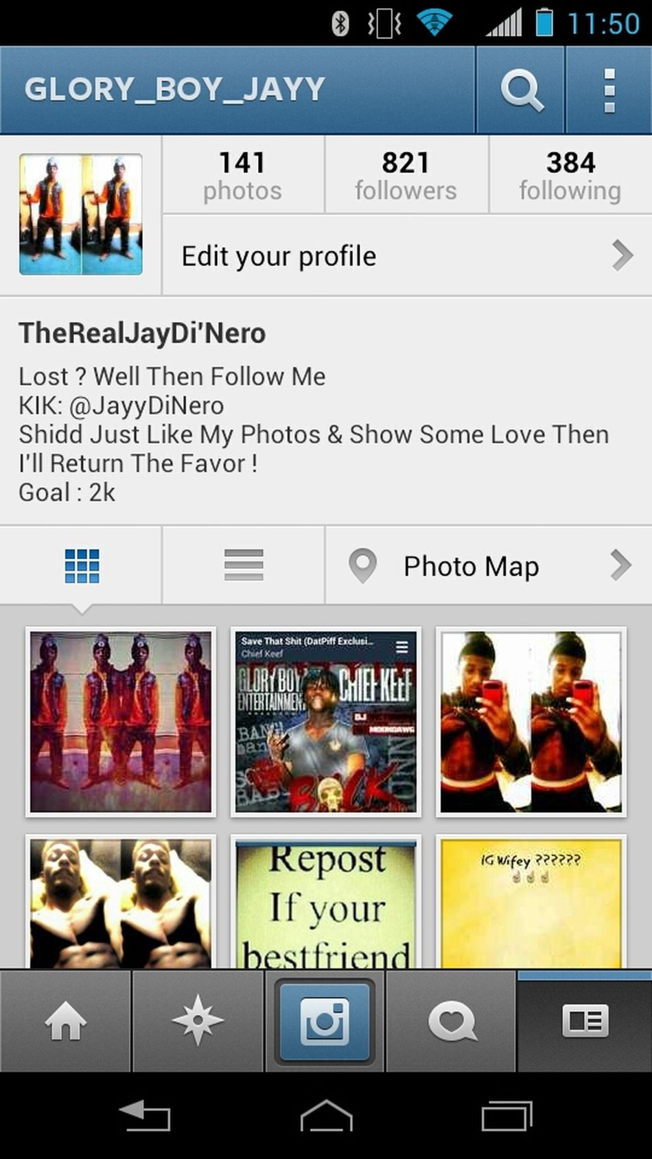 Follow Me On Instagram @ Glory_Boy_Jayy