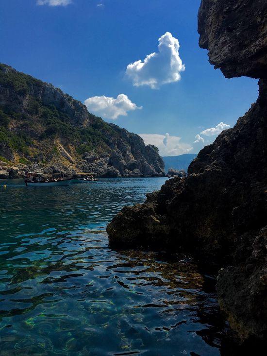 Water Tourism Mountain Sea Scenics Idyllic Vacations Travel Destinations Travel Rock Formation First Eyeem Photo