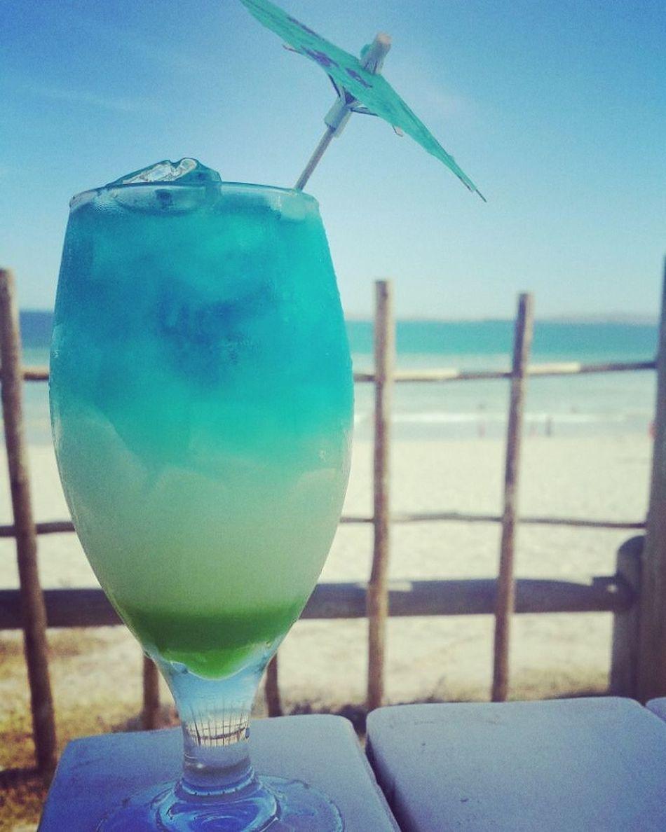 Cocktails🍹🍸 South Africa West Coast Langebaan Blue Ocean Beach Umbrella