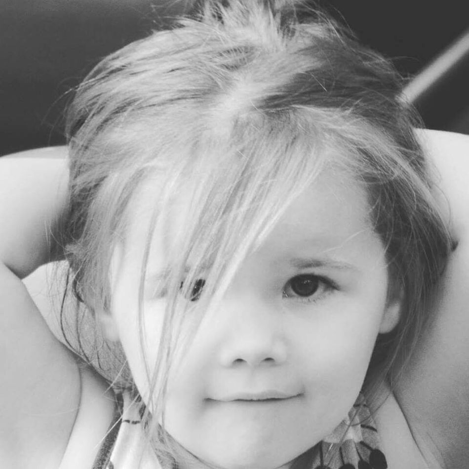 My Granddaughter Hanging Out Hello World Maggie_Noir Emma Jade