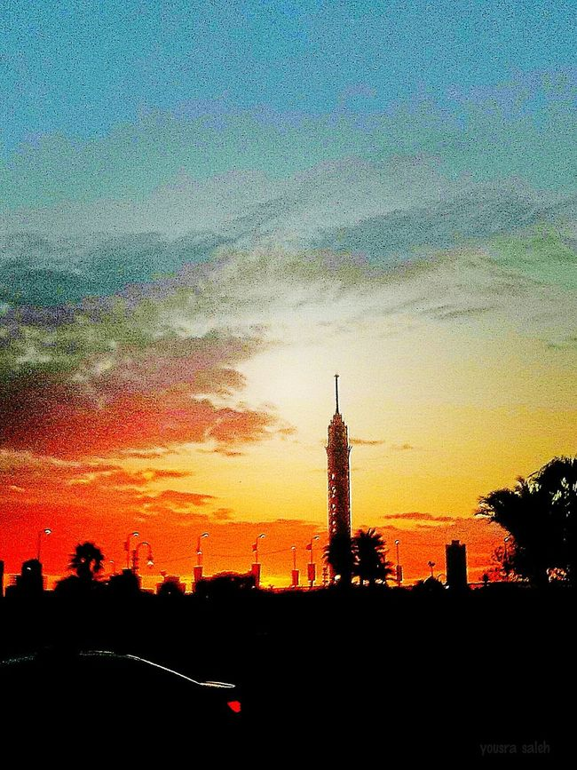 43 Golden Moments Sky View Orange Sky Yellow Sky Clouds And Sky Dramatic Sky Sunset_collection Sunset Time Orange Sunset Sunsetlight Orange Sky Sunset Cairo Tower Cairo Egypt Tower And Sky Trees And Sky Beautiful Nature Car Streetphotography Street Photography City Life City Street Smartphone Photography Mobile Photography Taking Photos Love To Take Photos ❤