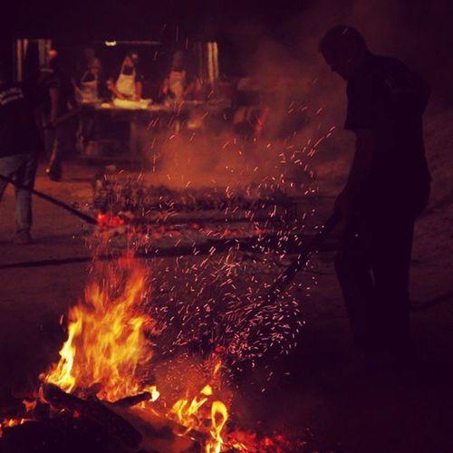 Sagra Della CAPRA 2013 domusdemaria proloco amazing beautifulnight summernight fire meat