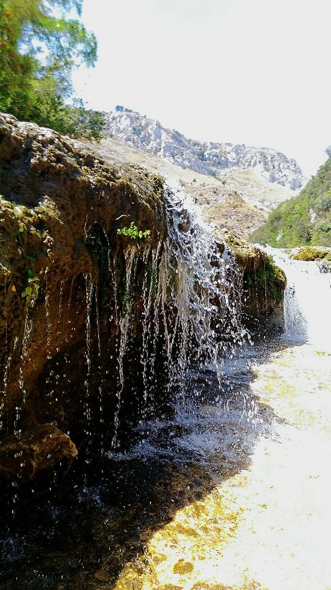 Small waterfalls Water Mountains Waterfall From My Point Of View Nature Sun Art Sicilia Hidden Gems  Rock Home Is Where The Art Is Excursions Reflections Fine Art Taking Photos Summertime Feel The Journey Holiday Beauty In Nature Colorful Cavagrande Paradise Siracusa Sicily Colour Of Life
