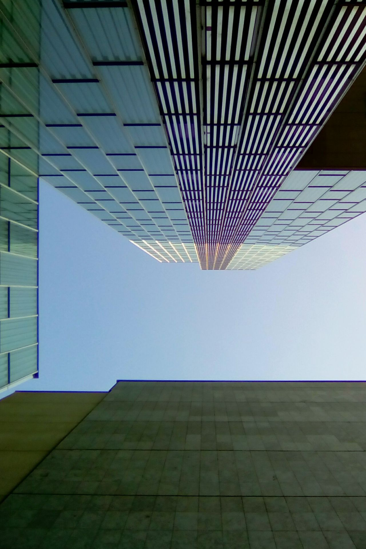 Architecture Skyscraper Built Structure Modern City Building Exterior Outdoors Day No People Cityscape Futuristic Sky Open Edit Things I See Backgrounds High Angle View Color Light And Shadow