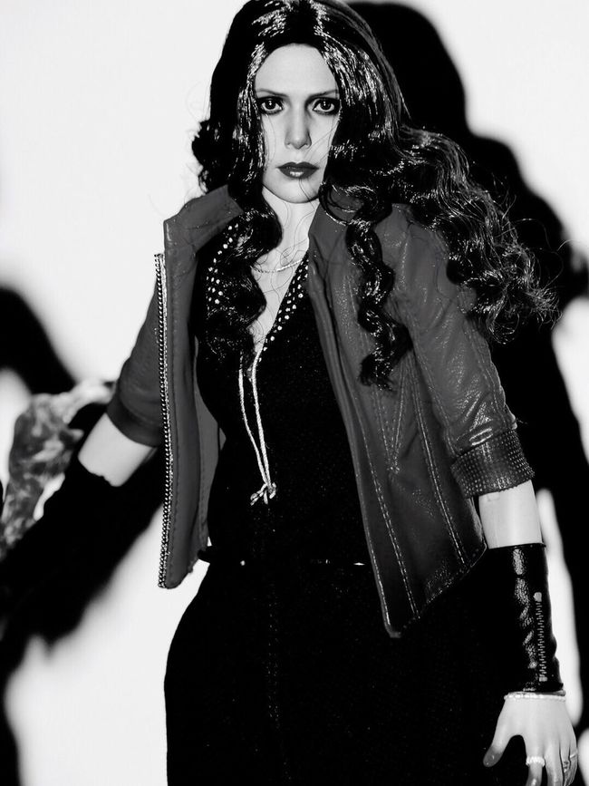 Hottoys Avengers ScarletWitch Scarlet Witch Wanda Elizabeth Olsen Olsen