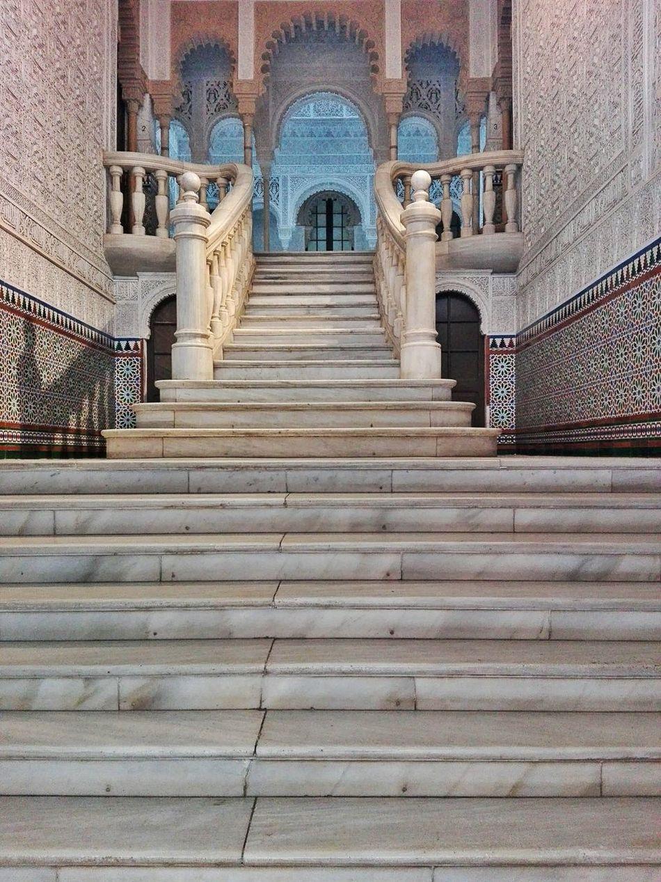 Entrance Hall of Edificio Alhambra Opulent Oriental Urban Architecture