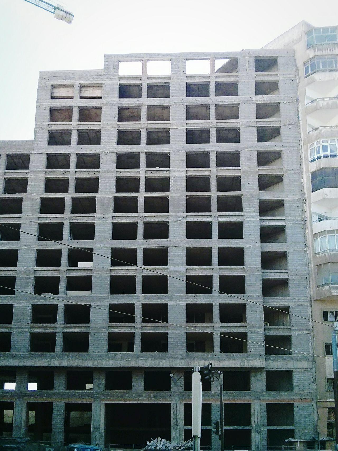 Concrete Jungle Urban Geometry Under Construction Architecture