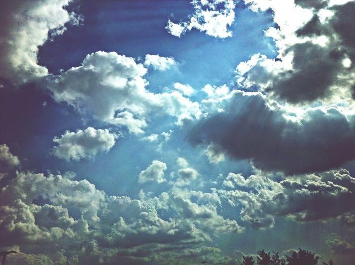 Sky Ontheroad Clouds Enjoying Life