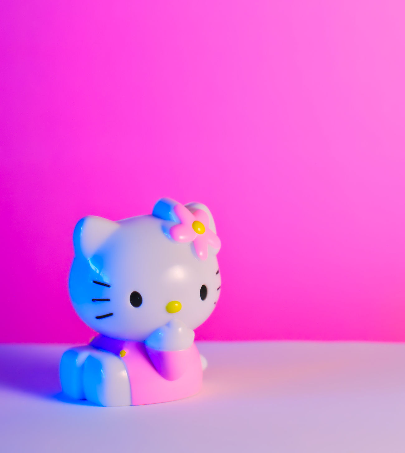 Hello Kitty Close-up Color Of Life Cute Extreme Colors Fantasy Figure Focus On Foreground Funny Girly Hello Kitty Japan Kitty Light And Shadow Millennial Pink Nikon Pink Pink Background Pink Color Single Object Still Life Photography Studio Shot Toy Toy Adventures ハローキティ 日本
