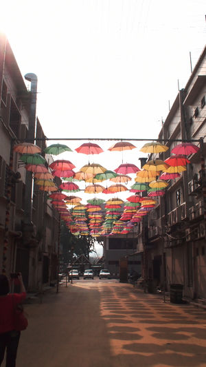 Colors Umbrella ASIA Streetphotography Abstract