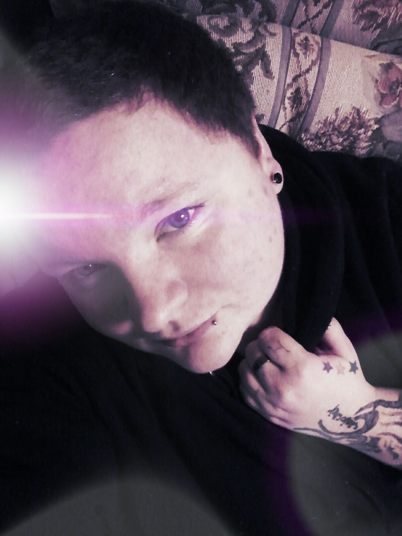 Clutch Genderfluid GenderEquality Pierced One Person Young Adult Adults Only Adult Tattooed Love Without Boundaries Stud Darkside Stud Status  Stud Life Looking At Camera Exceptional Photographs Model Dark Photography Deeper Meaning Lookcloser Holdingon Staymyself Stay Strong