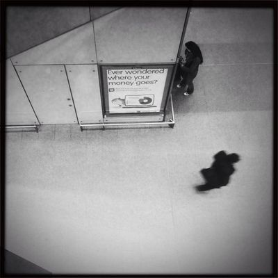 streetphoto_bw at St Pancras Intl. Station (STP) - Domestic Lines by Boleigh