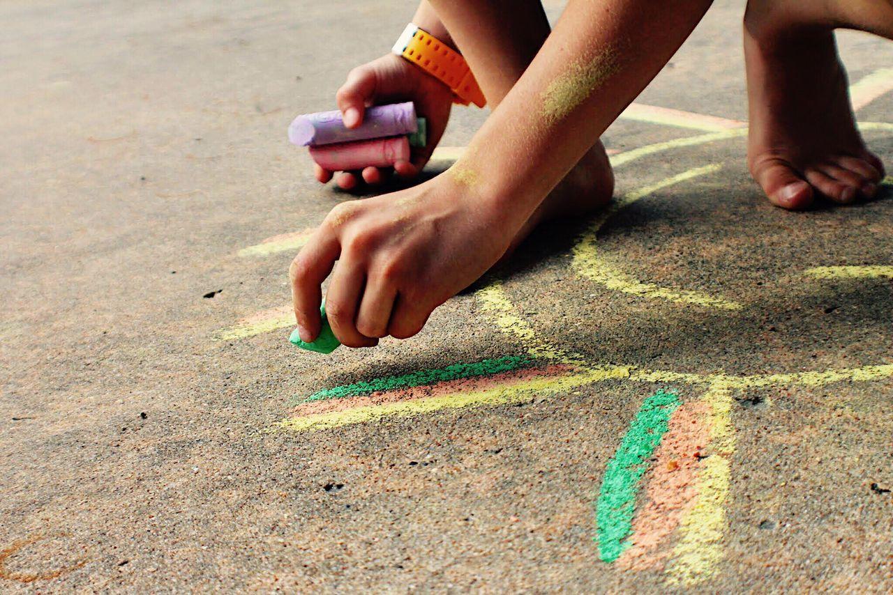 Beautiful stock photos of drawings, Art, Art And Craft, Boys, Chalk - Art Equipment
