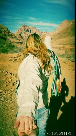 Grand Canyon Murad Blonde Hair Amazing Amazing Place Muradosman
