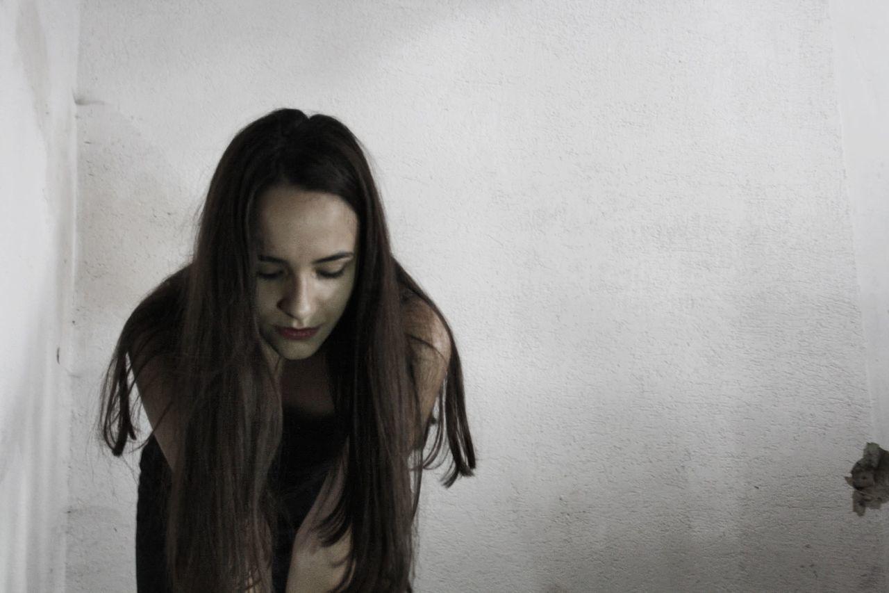 Beautiful stock photos of model, Beautiful Woman, Beauty, Bending, Black Hair