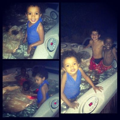 These #munchkins and that #hottub Lux Munchkins Rkoi Hottub  Luxery Luxurylife Rkoig Californialife