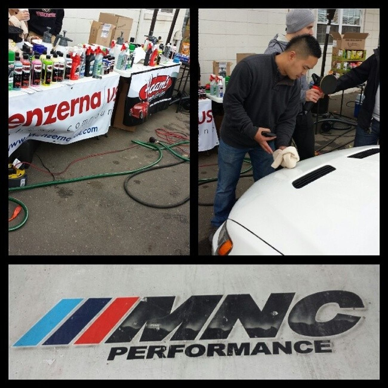Come by @mncperformance now for some 101 on detailing you car by the guys from @detailersgarage Nycalive Mncperformance Li Oceanside bmw carlife fortheloveofeverythingcars carlove detailersgarage