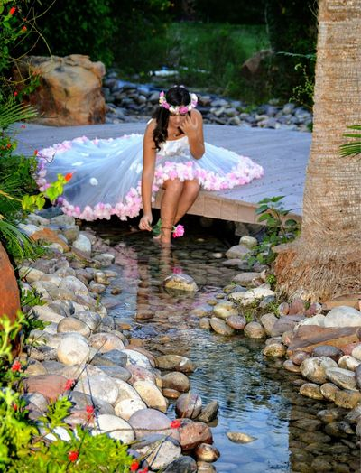 One Person One Woman Only Water Beautiful People Beauty Outdoors Portrait Flower Creek Refuge Wild Wildflowers Water Reflections Water Creek Rose - Flower Roses Flowers Pink Pink Color Beautiful Nature Scenery Fairy Princess Fairy Forest Fairytale