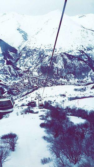 Enjoying Life Relaxing Hi! Hanging Out Beautiful Free Ski Gelė Frozen Nature Montagne
