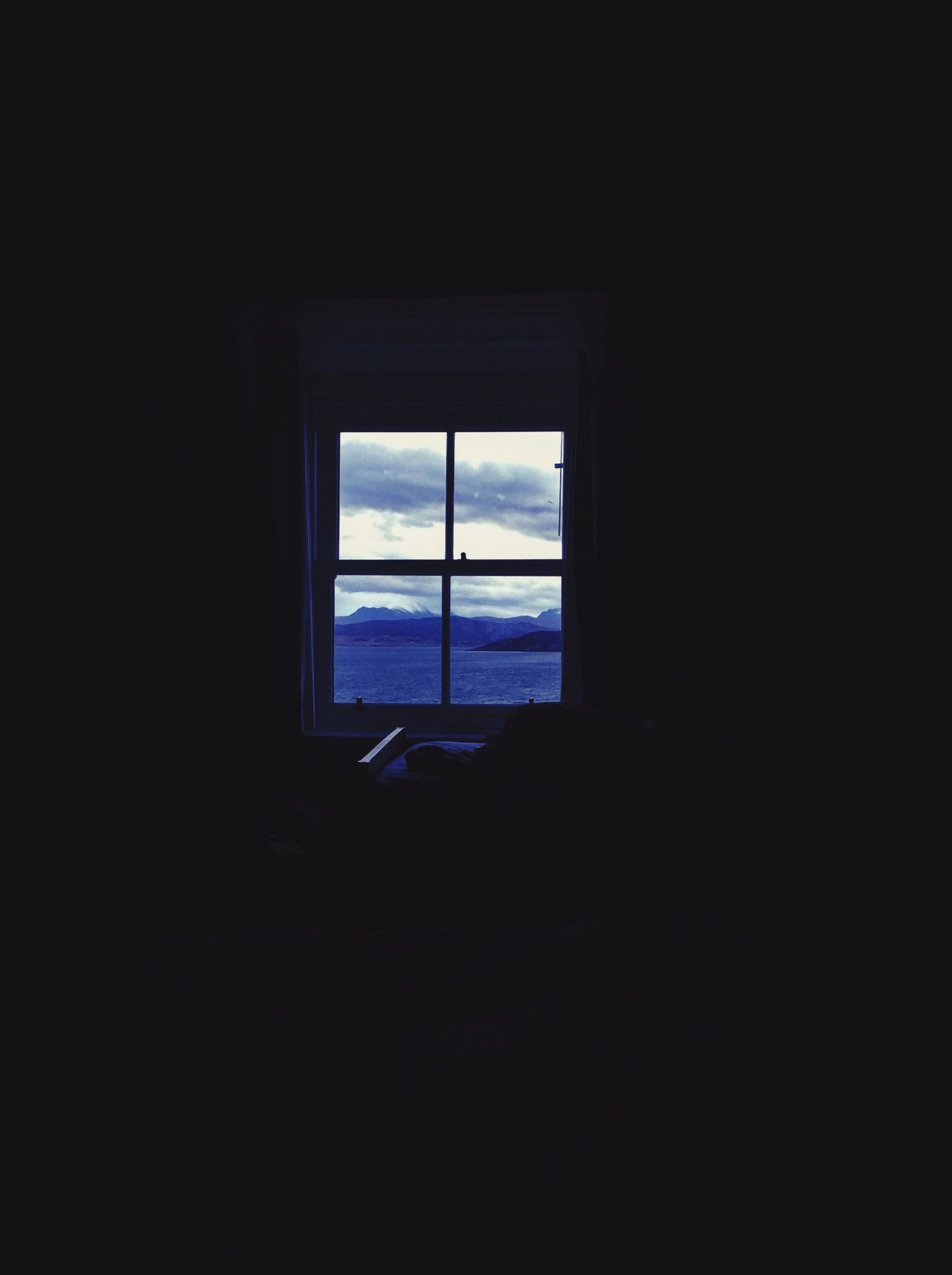 Homogany in Scotland. My morning view from my double bed. Perfection. View Scotland New Year