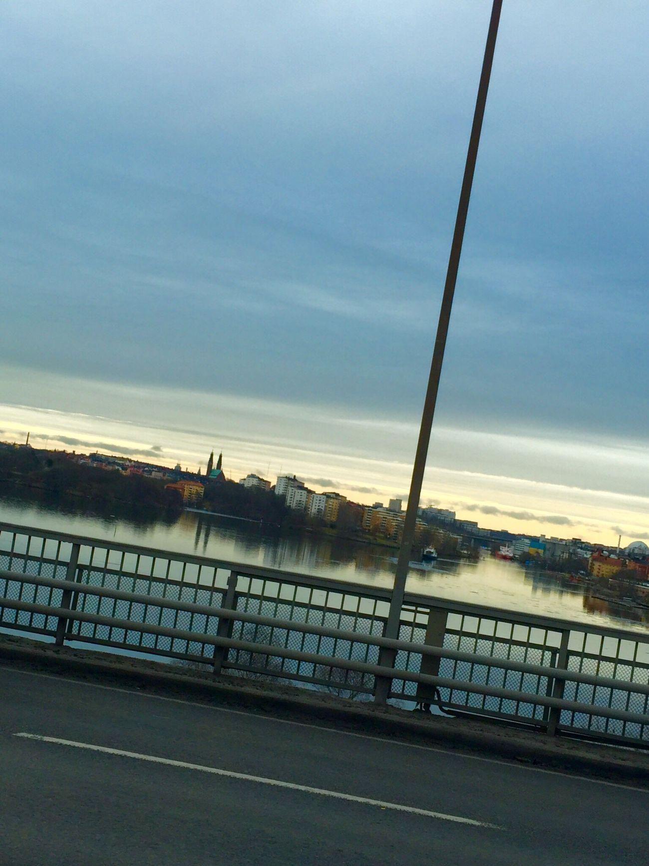 Going To Work Road Bridge