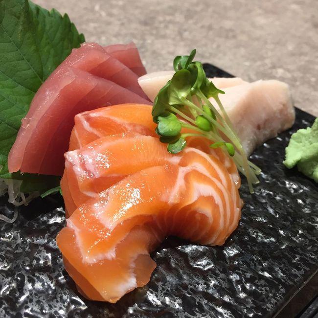 Freah Sashimi Food Salmon Sashimilovers Japanese Food
