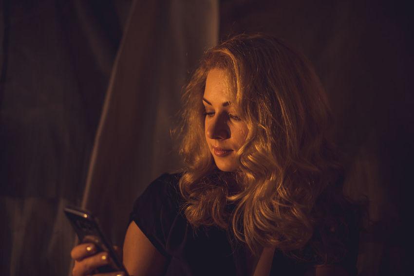 Girl Phone Selfie