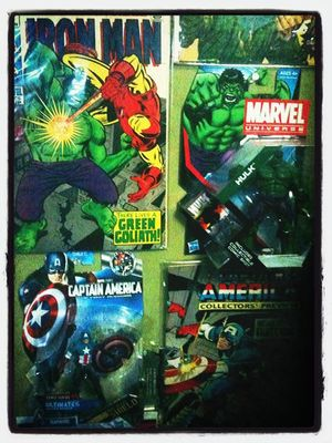 Marvel Comics in Orlando by Stranger