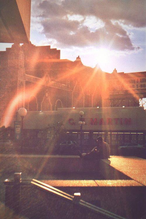 Rays of Rah Analog Photography Streetphotography Sunset Film Scannedfilm