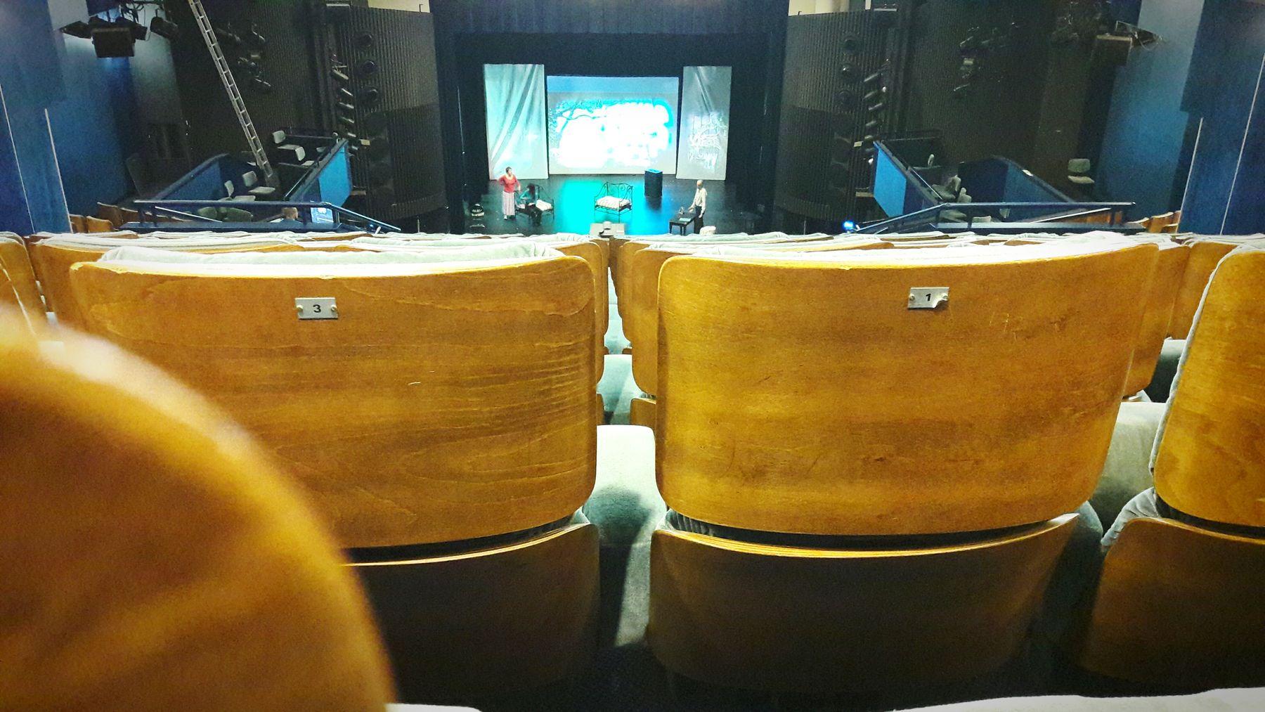 Indoors  Theatre Davidcopperfield Rehearse First Eyeem Photo