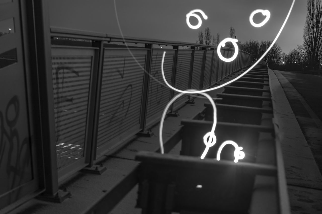 Alone Architecture Cold Day Fun Indoors  Lightpainting Night No People Saxony