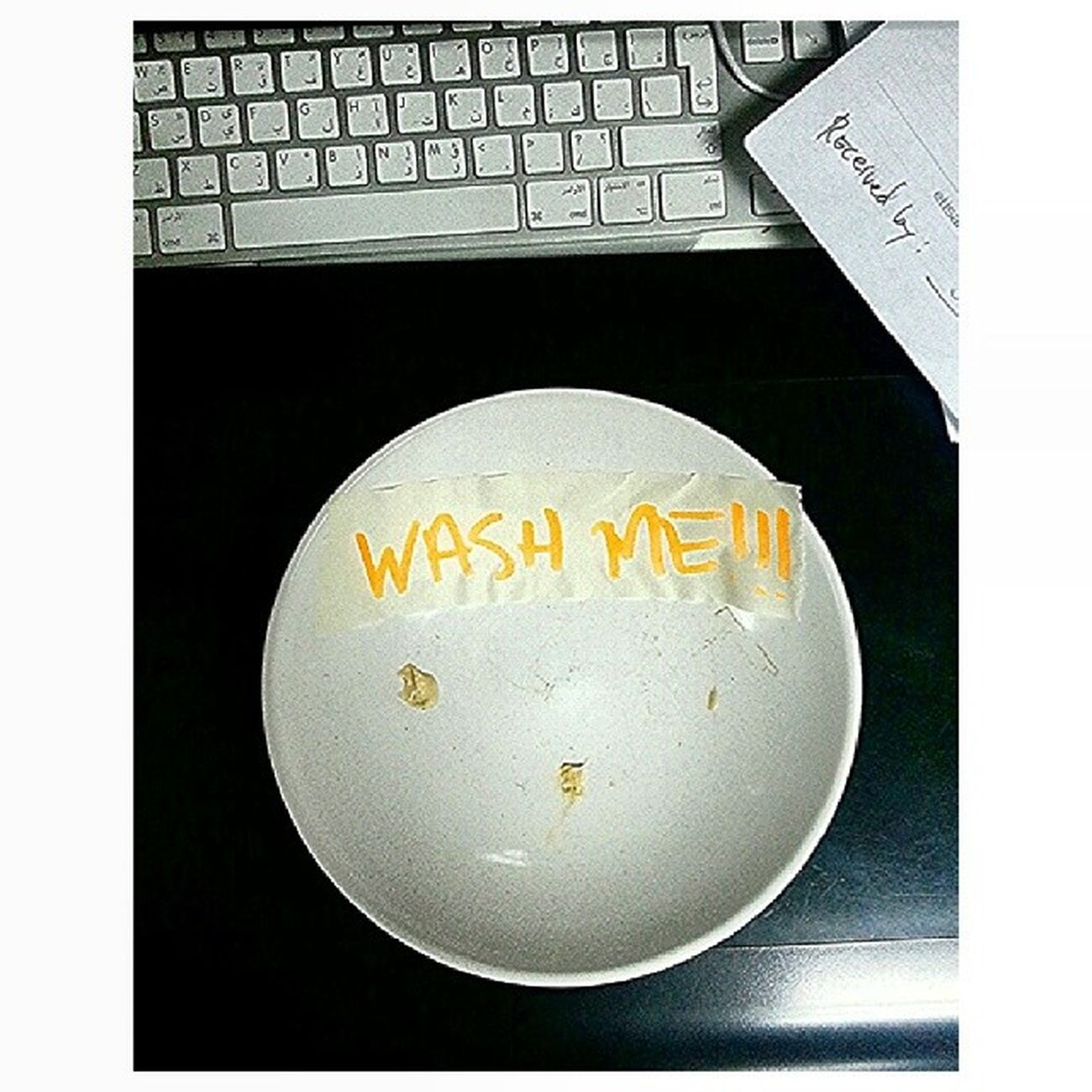 Wash me! Wash me! Bossnote Washme