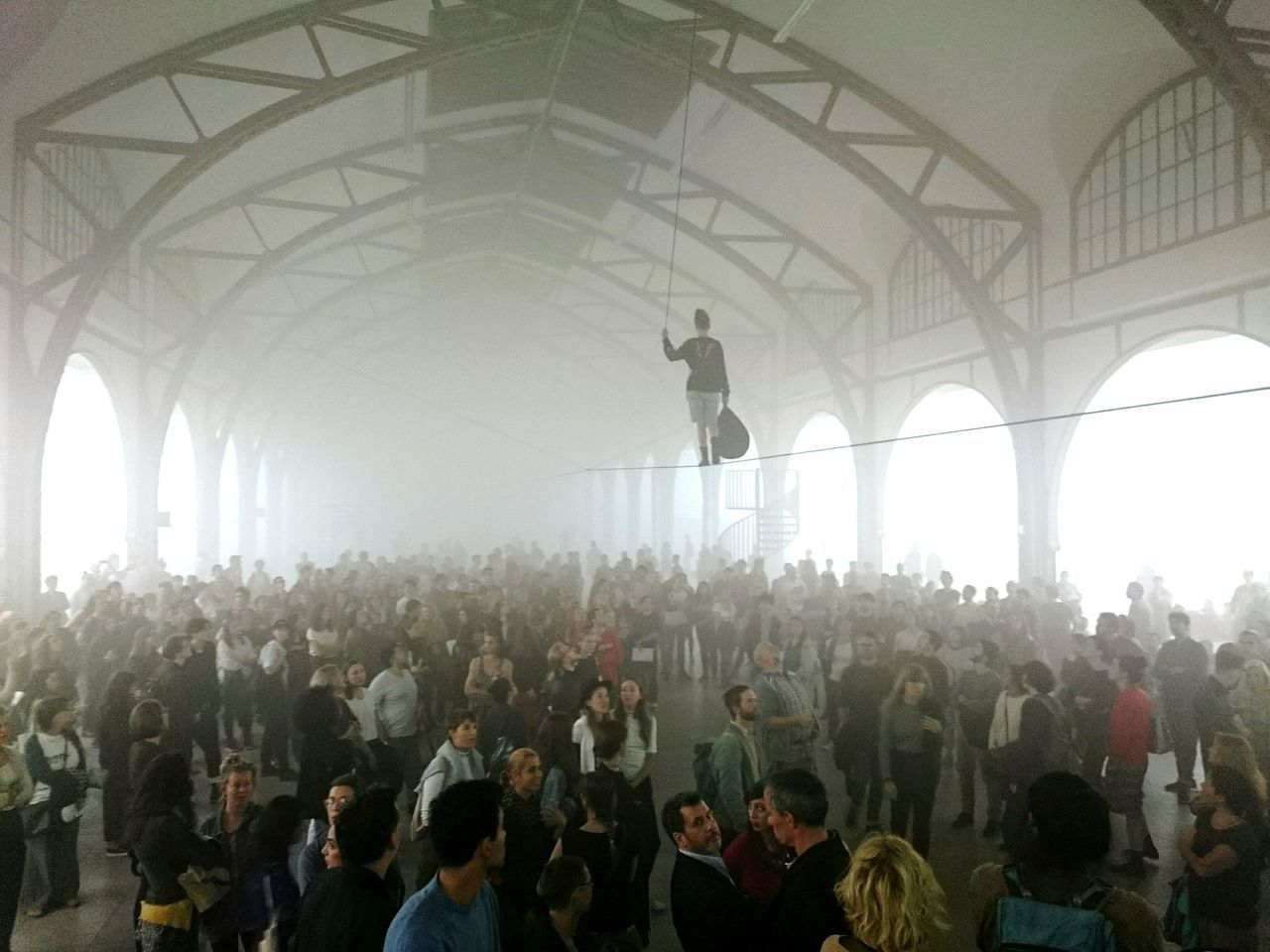 Art Performance Indoors  Large Group Of People Architecture Built Structure Crowd Person Architectural Column Day