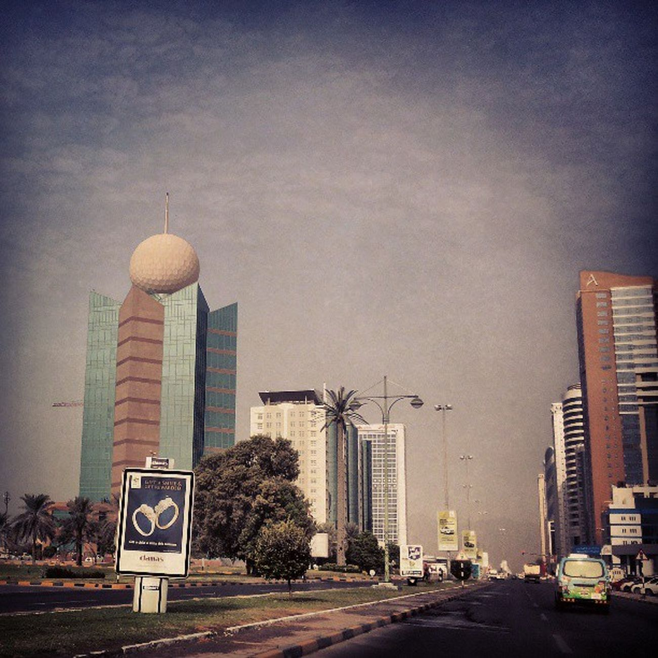 Fujairah Etisalat tower