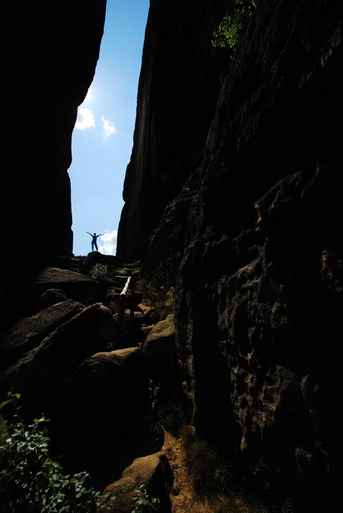 Landscape Rock - Object Beauty In Nature Adventure Outdoors Rock Formation Anonym Notch