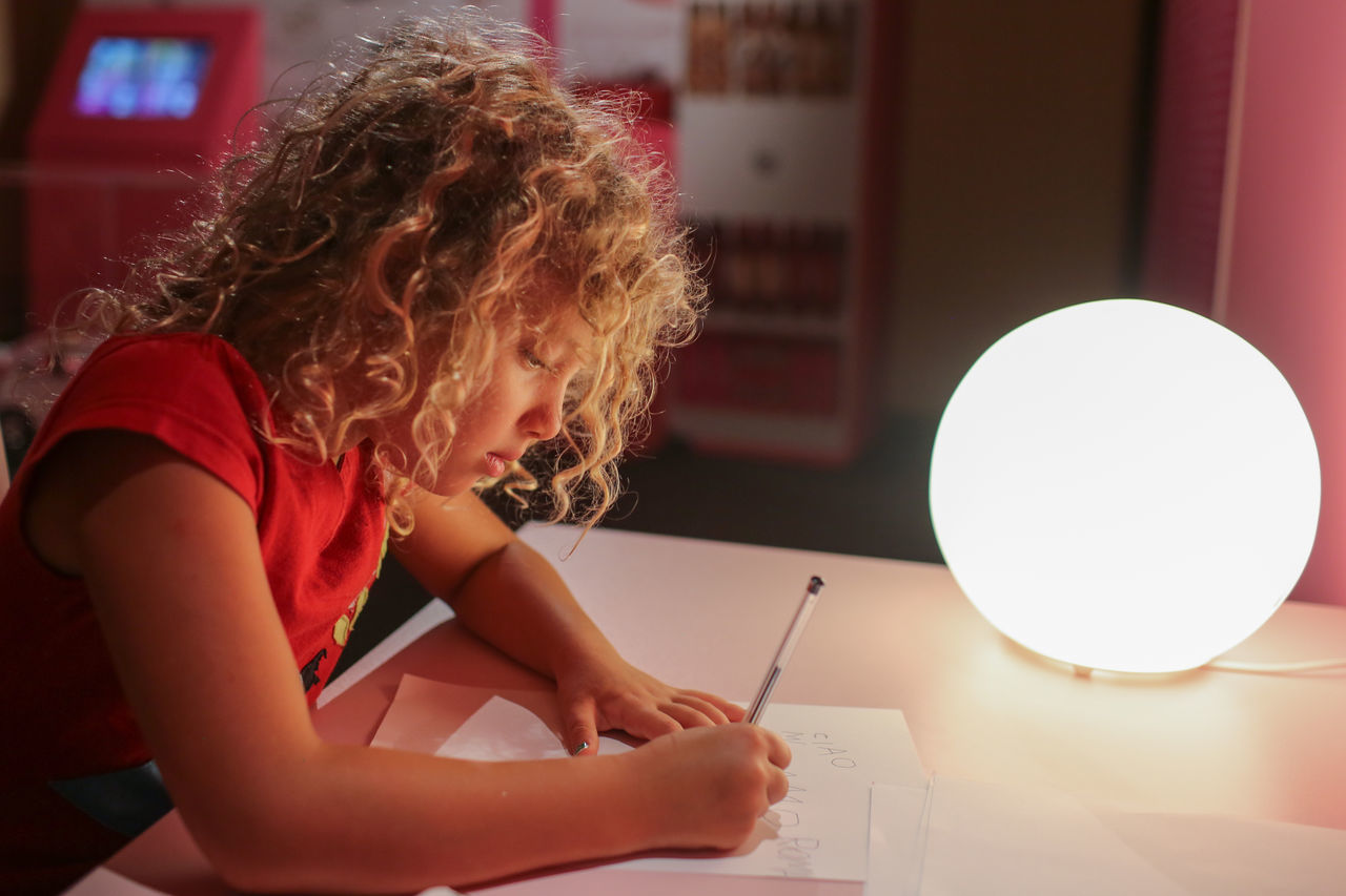 My daughter writing a letter to Barbie American Dream Barbie Barbie Collector Barbie Doll Dolls Exhibition Museum Toys