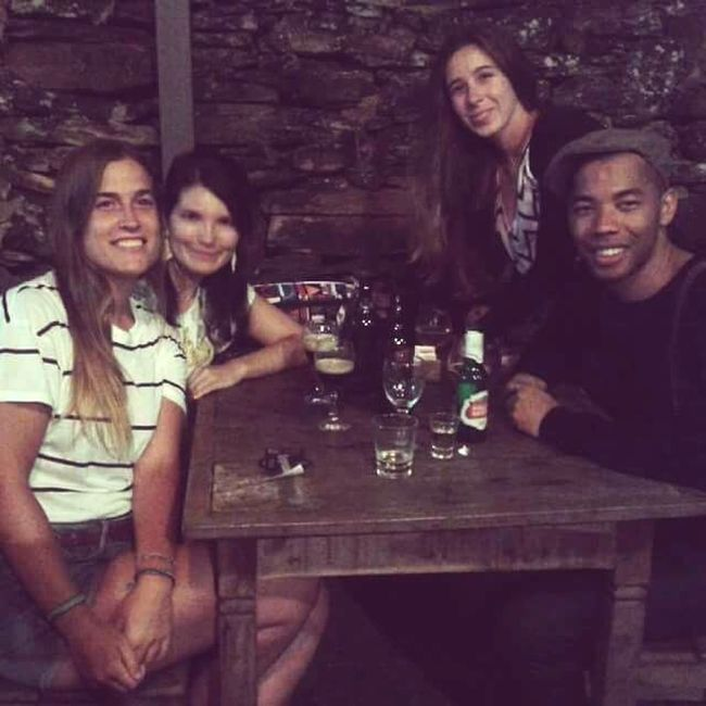 That's Me With Friends Cuba Brasil Spain♥ Thaking Photos Drinking Beer Super!!!! :) Yey!
