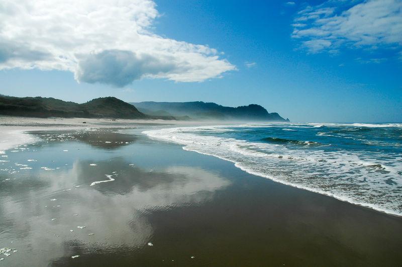 Beach Perfect Beauty Oregon Oregon Coast Perfect Oregon Beach Surf And Wave Waves Waves, Ocean, Nature