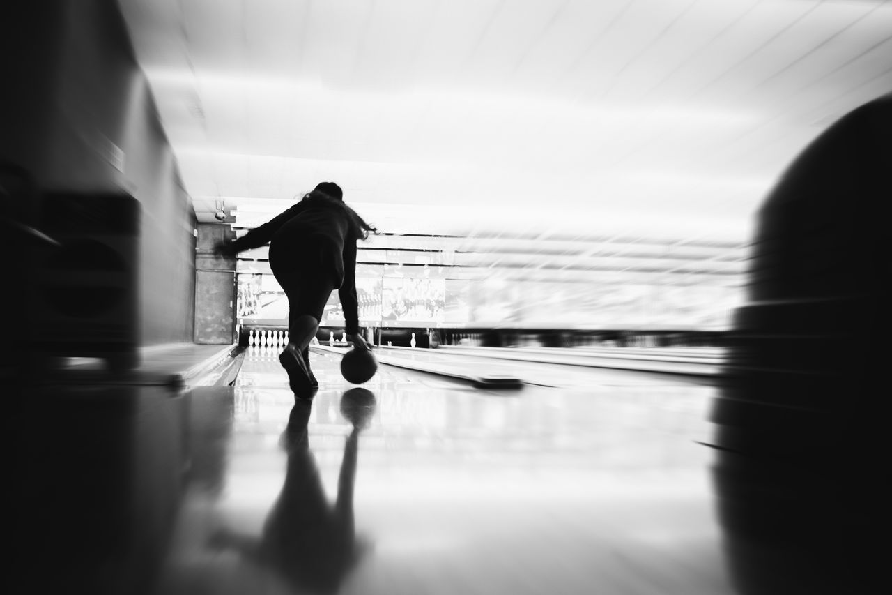 Beautiful stock photos of bowling, Bowling, Bowling Alley, Bowling Ball, Enjoyment