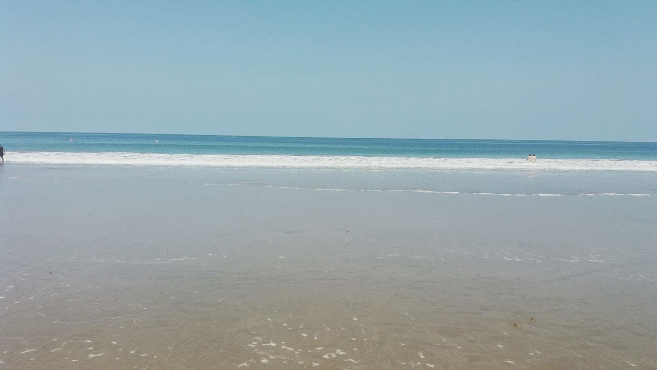 sea, beach, water, nature, horizon over water, beauty in nature, scenics, tranquility, sand, sky, tranquil scene, no people, outdoors, wave, day, clear sky, scenery